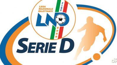 Logo Serie D sfondo bianco