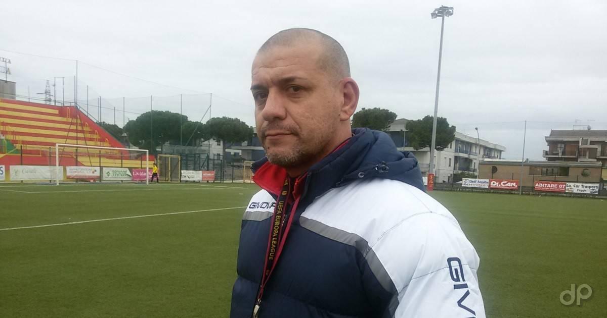 Fabio Di Domenico allenatore San Severo 2017