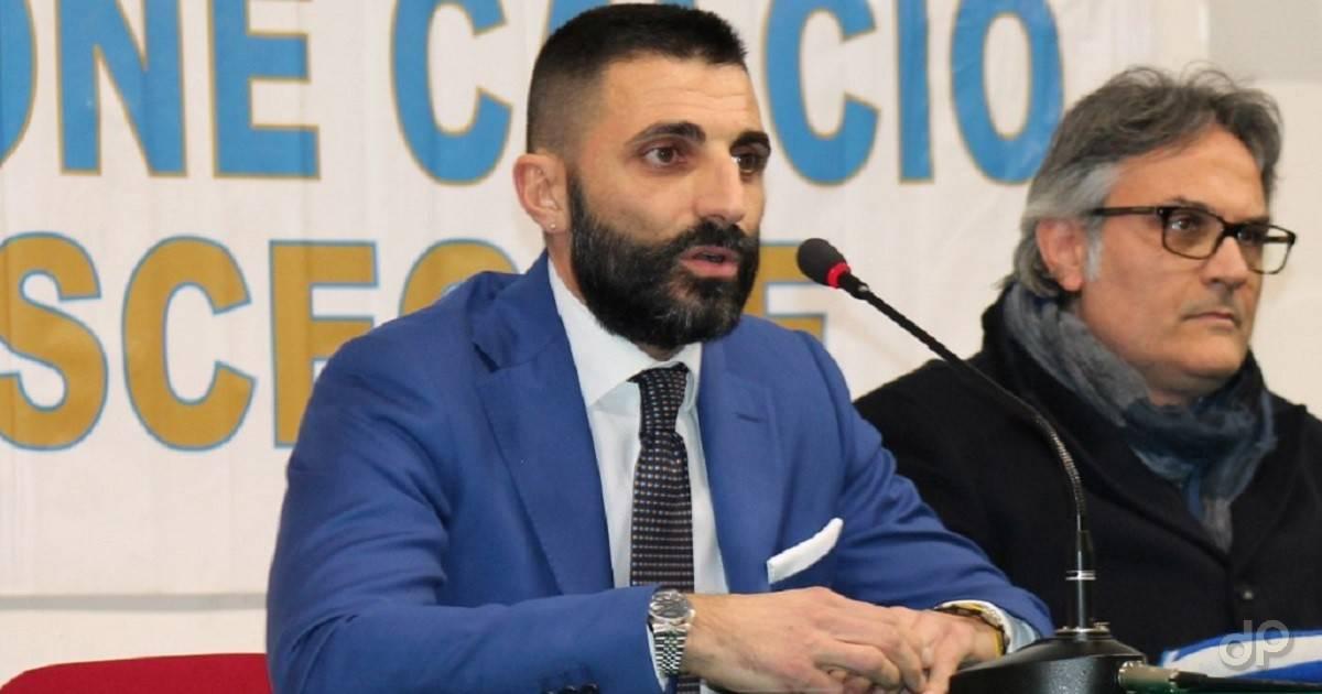 Giuseppe Ruggieri amministratore delegato UC Bisceglie