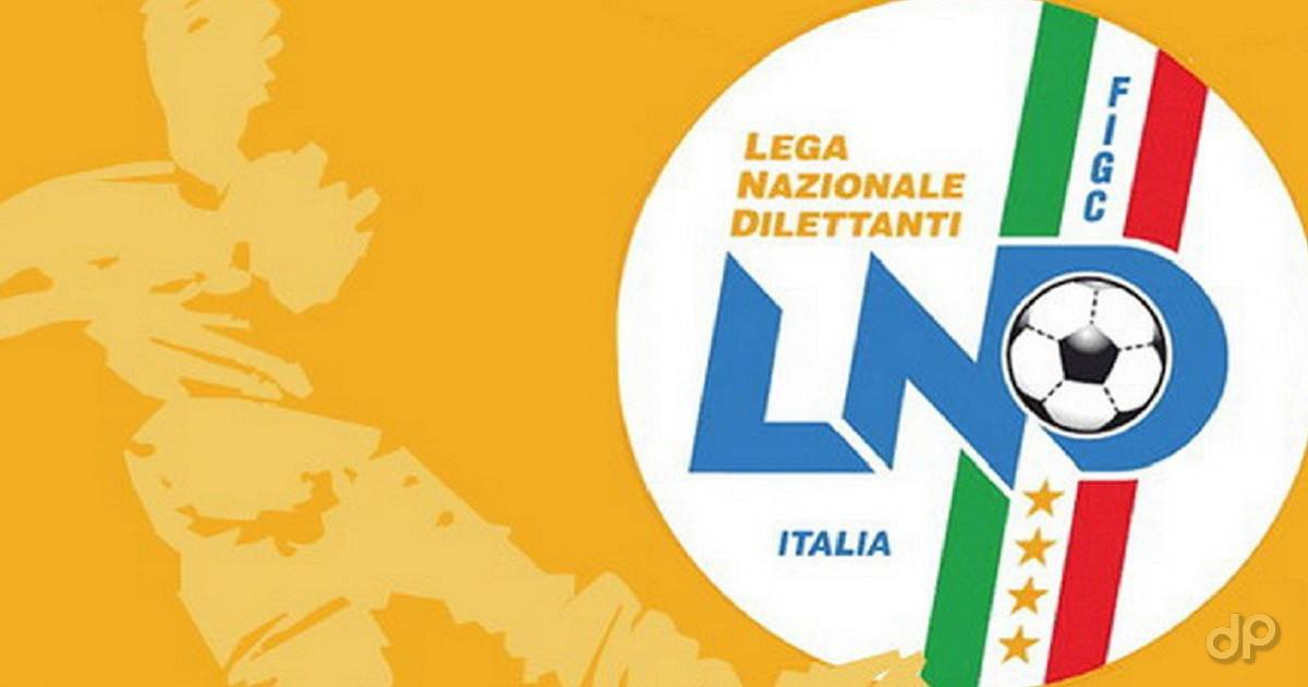 Logo Serie D sfondo arancione