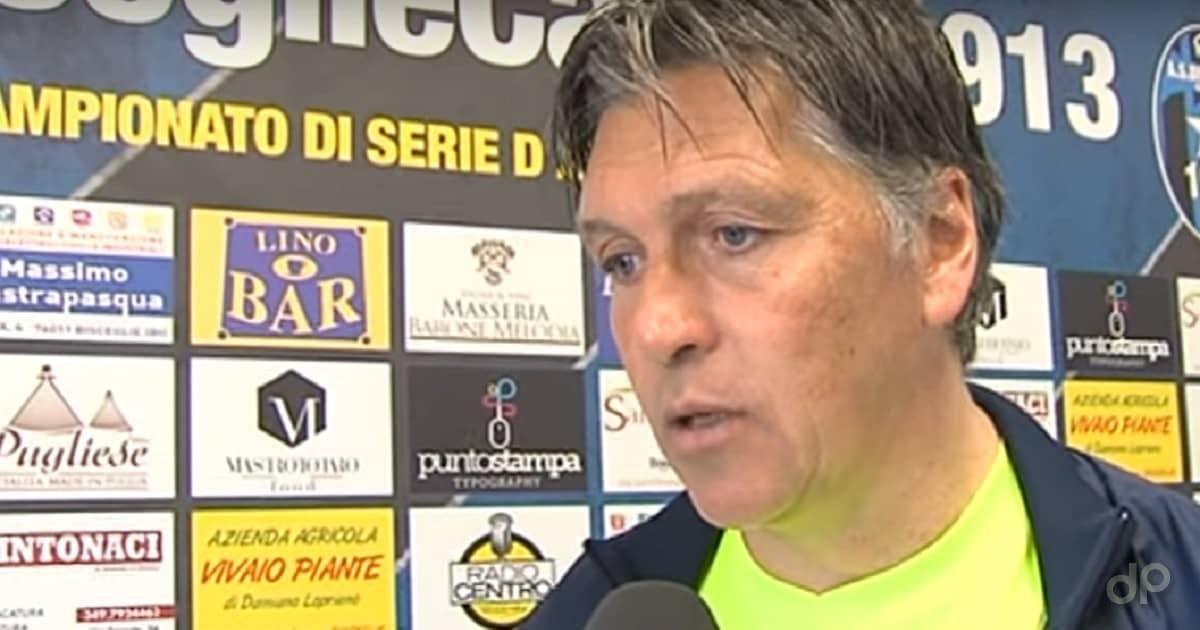 Nicola Ragno allenatore Bisceglie