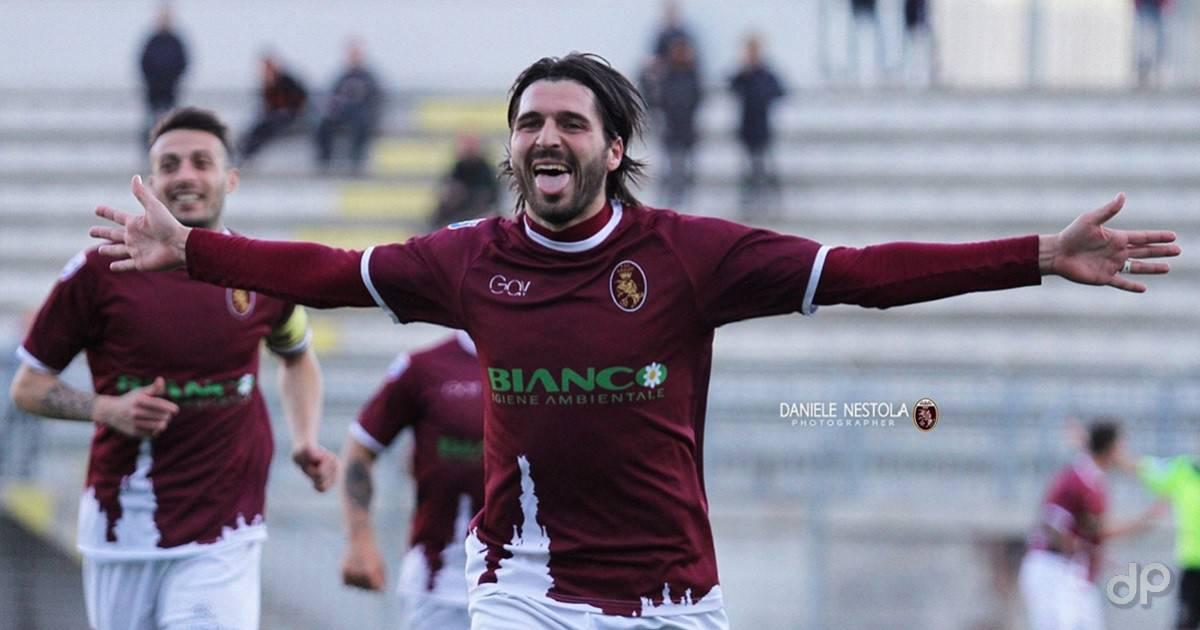 Cosimo Patierno con la maglia del Nardò 2017