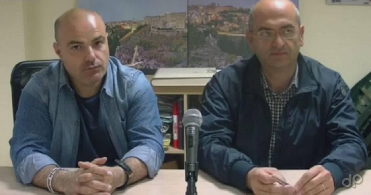 Gianni Aliano e Pino Costantiello, presidente e direttore generale Gravina 2017