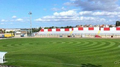 """Lo stadio """"Tonino D'Angelo"""" di Altamura"""