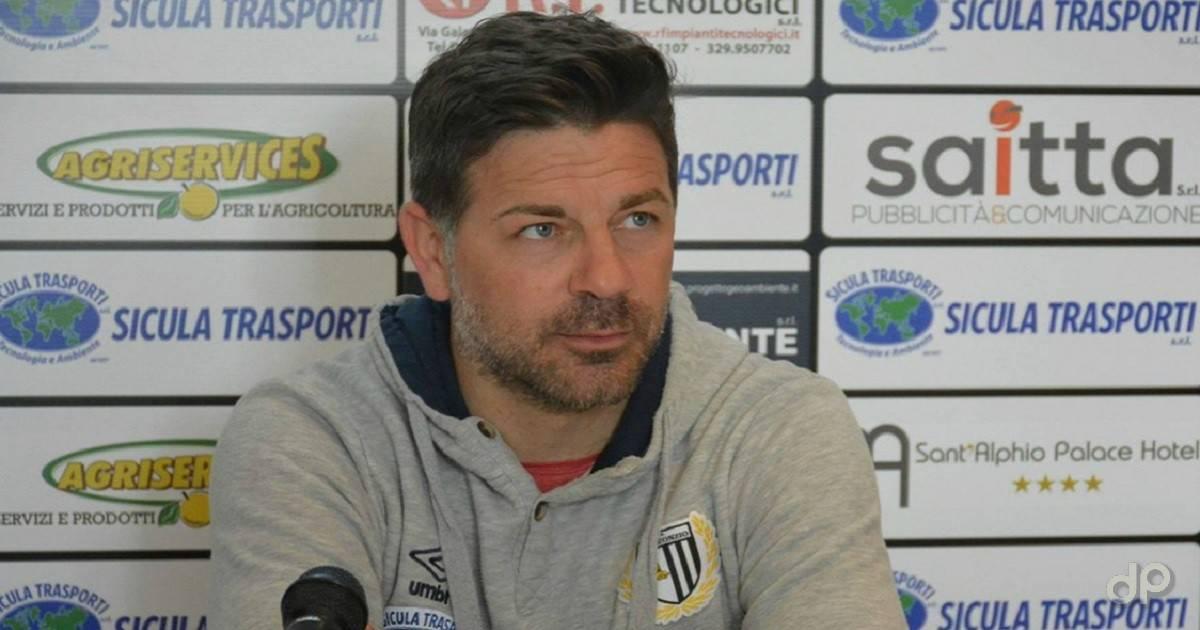 Francesco Cozza allenatore Sicula Leonzio 2017