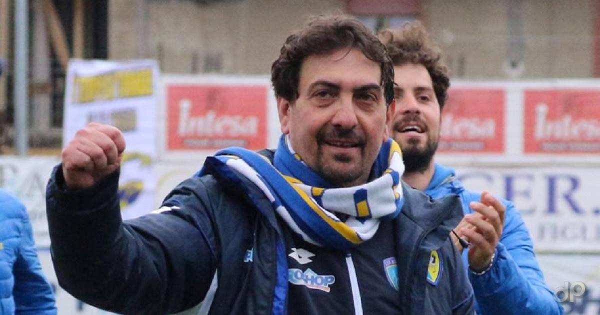 Francesco Farina allenatore Audace Cerignola 2017
