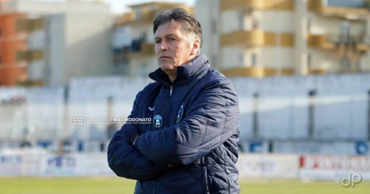 Nicola Ragno allenatore Bisceglie 2017