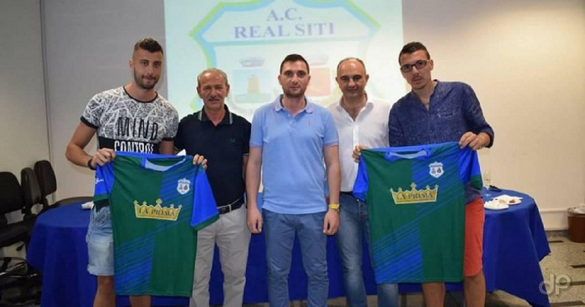 Caggianelli, Landi e Pignatelli con Fiordelisi e Giannatempo