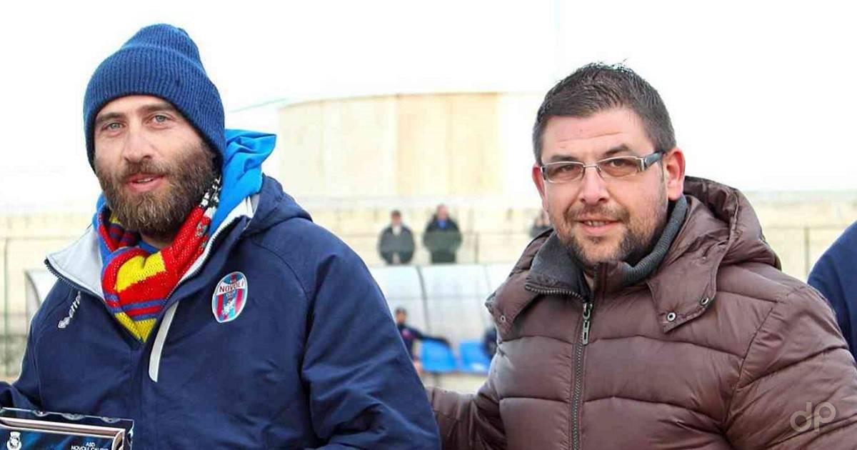Simone Schipa e Luca Spagnolo, allenatore e direttore sportivo Novoli 2017