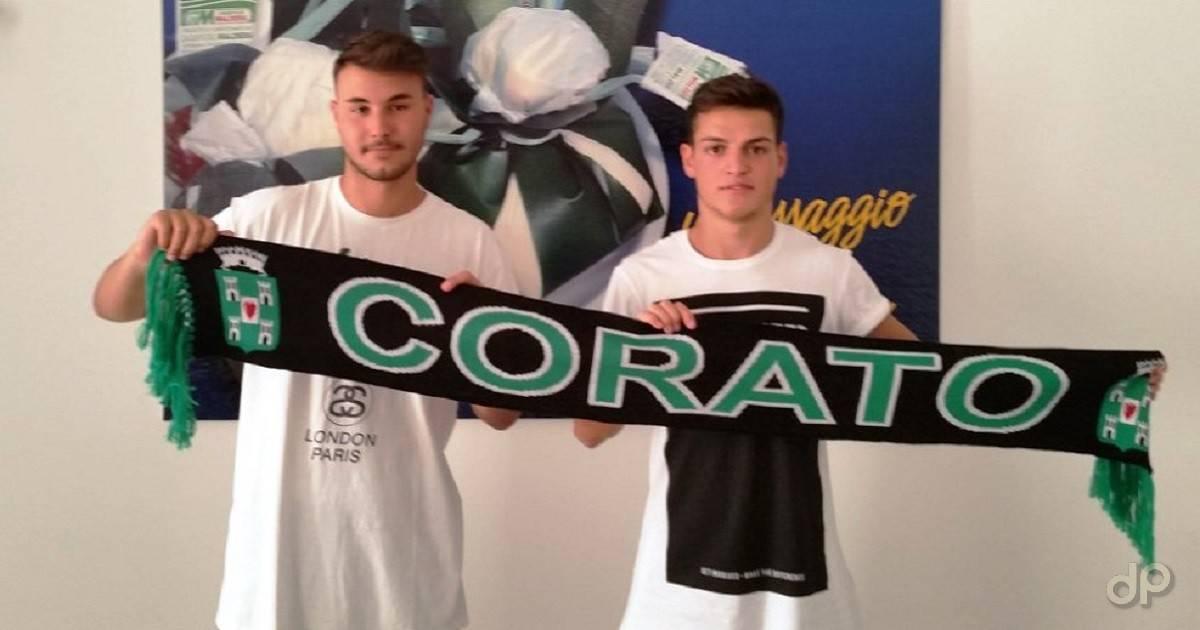 Alessandro Albano e Davide Cormio al Corato 2017