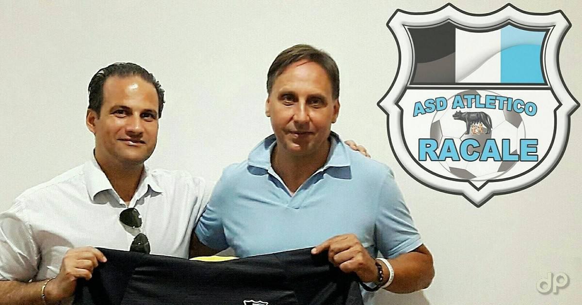 Francesco Cimino e Dario Levanto Atletico Racale 2017