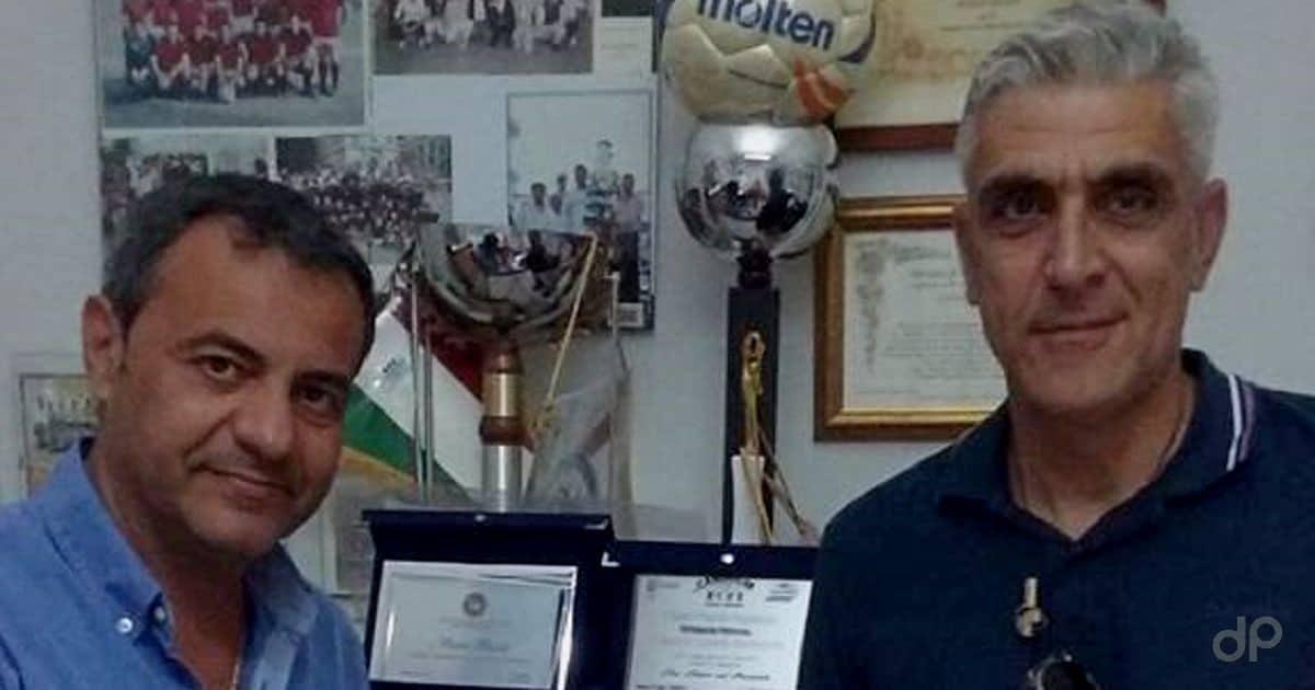 Gennaro Vernice allenatore Canosa 2017