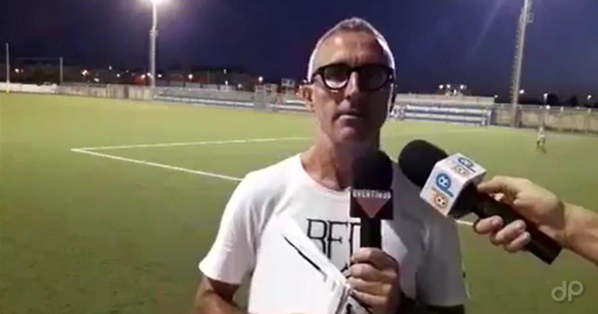 Gigi Bruno allenatore dell'Otranto 2017