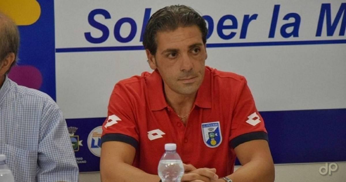 Giuseppe Laterza allenatore Fasano 2017