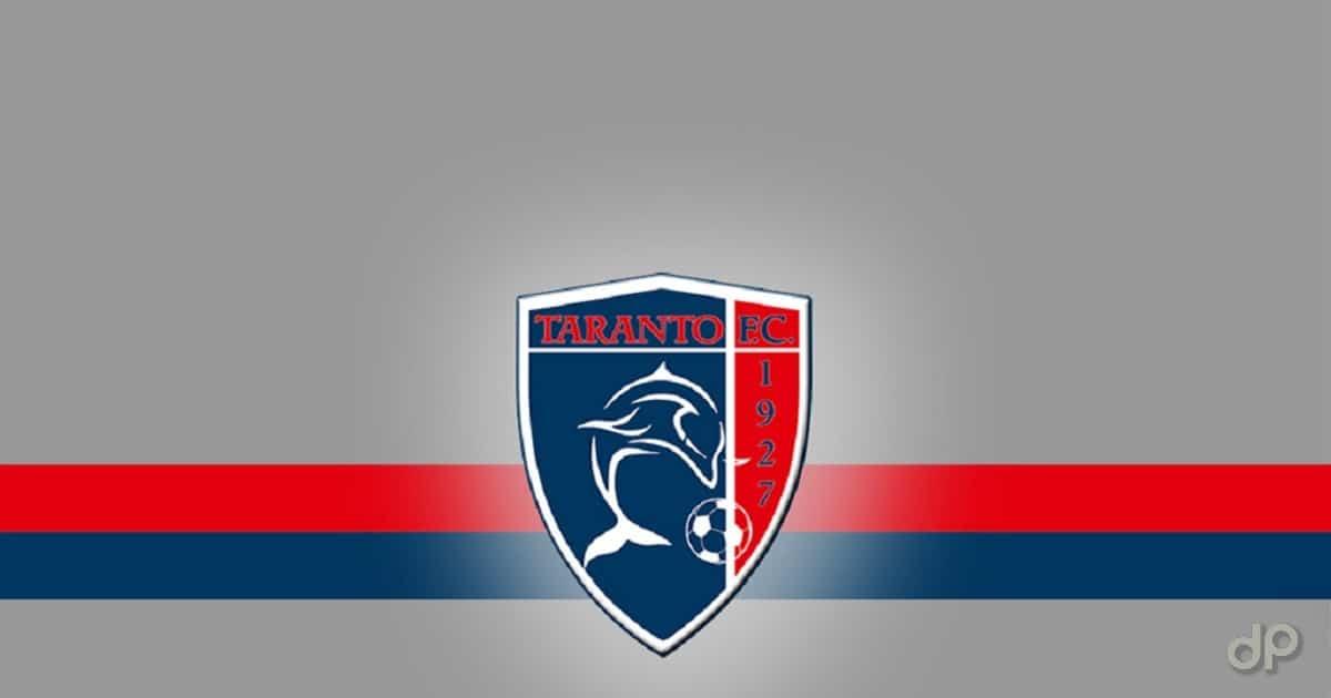Logo Taranto su sfondo grigio