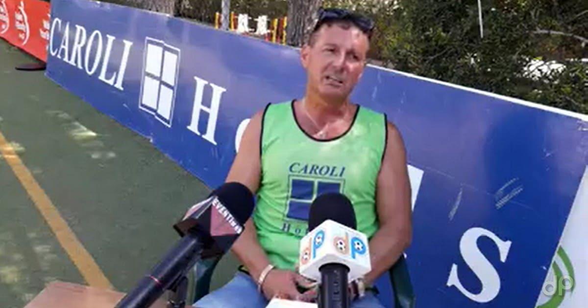 Marco Carrozzo allenatore Capo di Leuca 2017