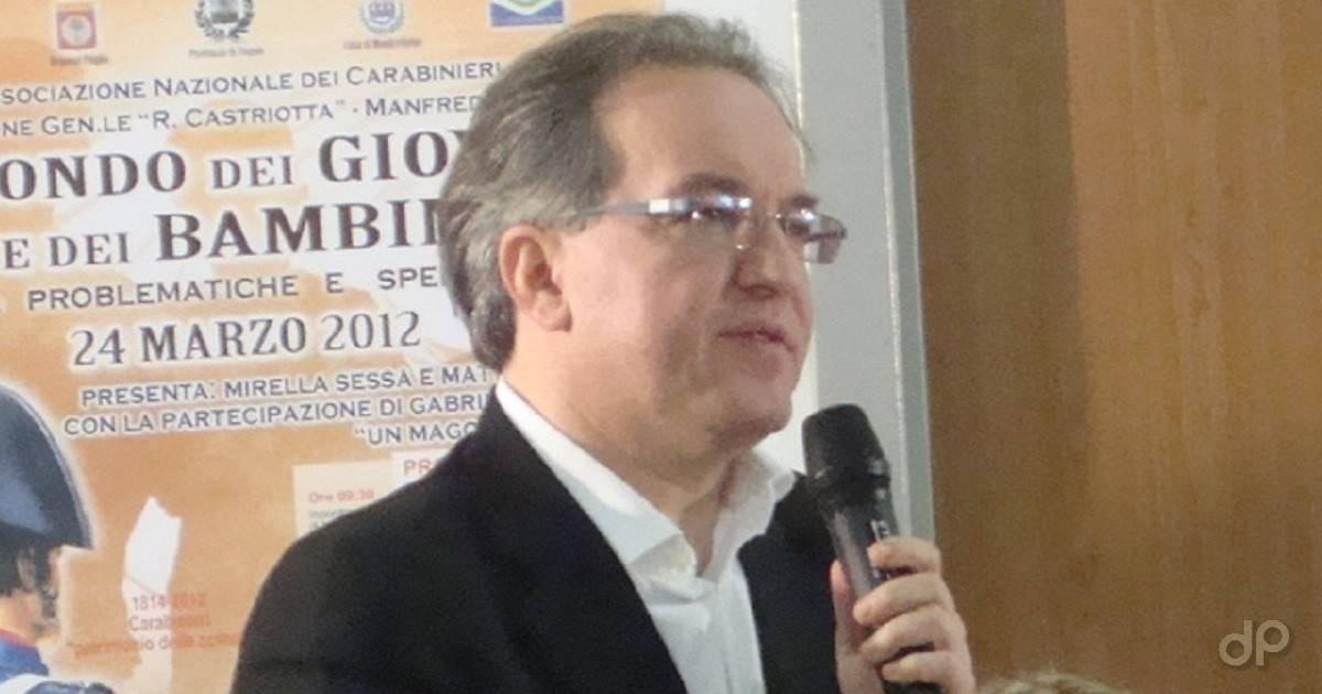 Matteo Vairo direttore generale Salvemini Manfredonia 2017