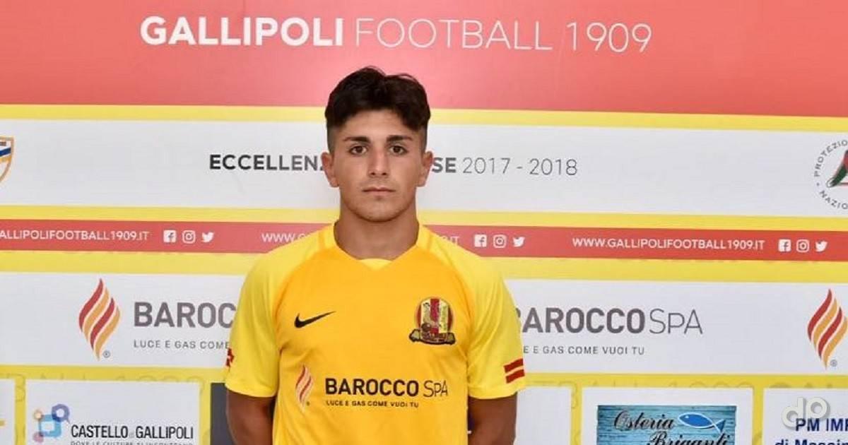 Pasquale Monopoli con la maglia del Gallipoli 2017