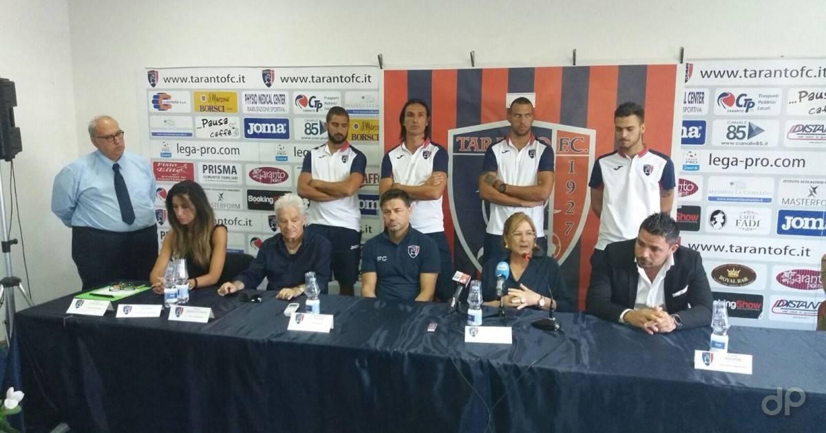 Presentazione Taranto 2017-18