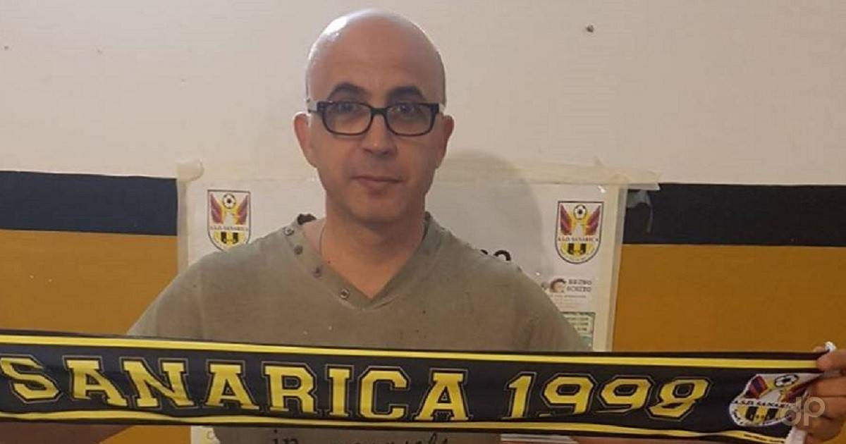 Salvatore Tamborino allenatore Sanarica 2017