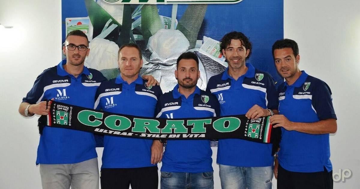 La presentazione del nuovo staff © USD Corato Calcio