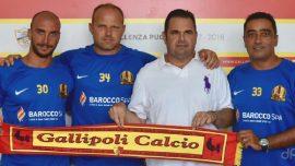 Gallipoli, Vincenzo Carrozza è il nuovo presidente. L'organigramma societario