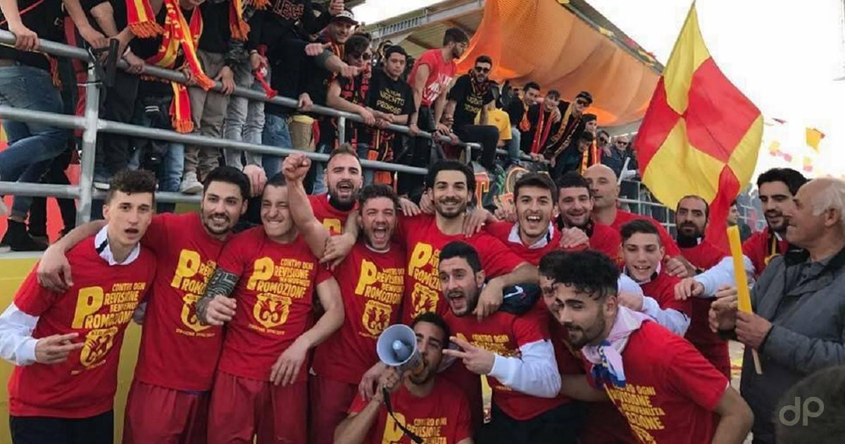 L'Ugento festeggia la Promozione 2017