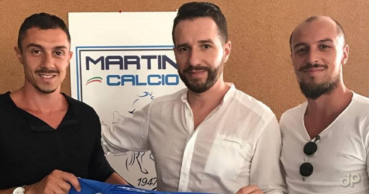 Valerio Cimino, Piero Lacarbonara, Fabiano Cimino Martina 2017