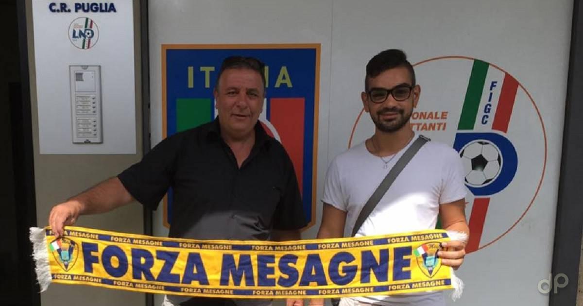 Vincenzo Todisco e Andrea Collina Mesagne 2017