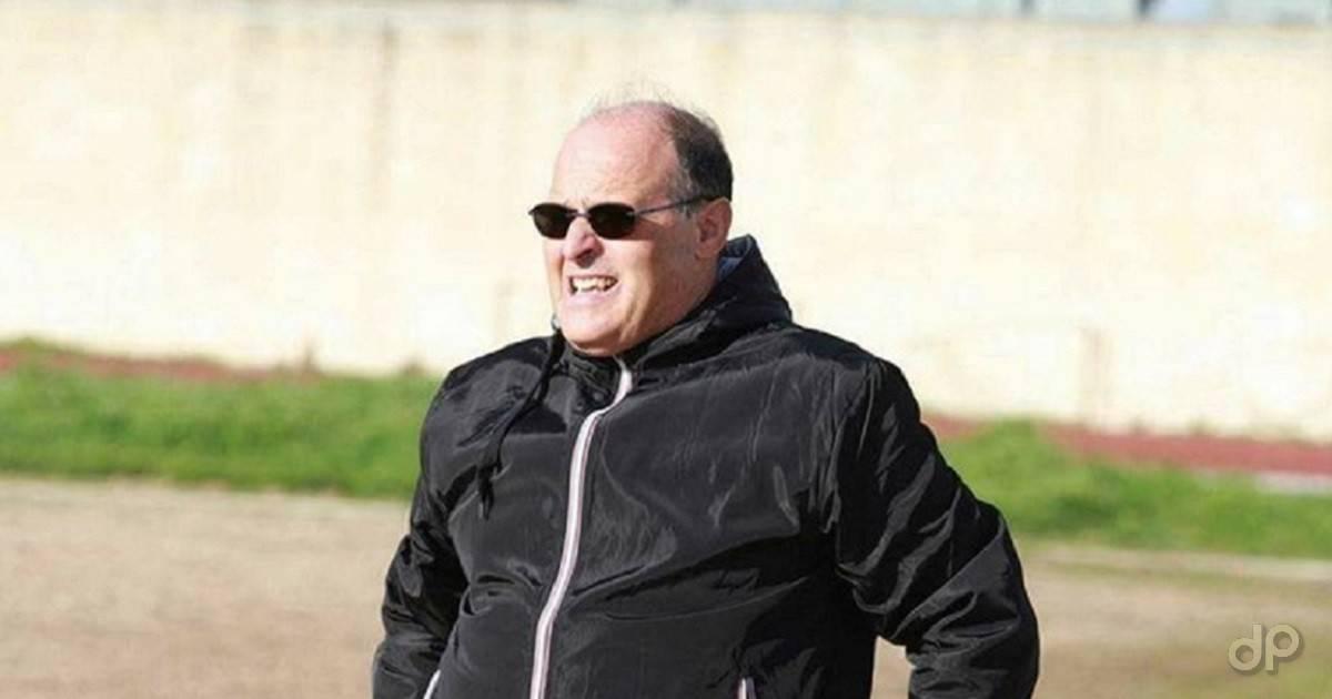 Vito Calamo allenatore Savelletri 2017