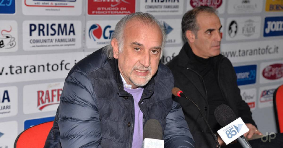 Aldo Roselli direttore generale Taranto 2017