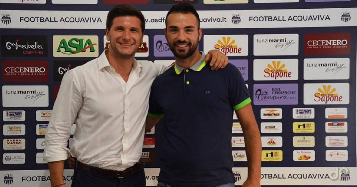 Andrea Ettorre allenatore Football Acquaviva 2017