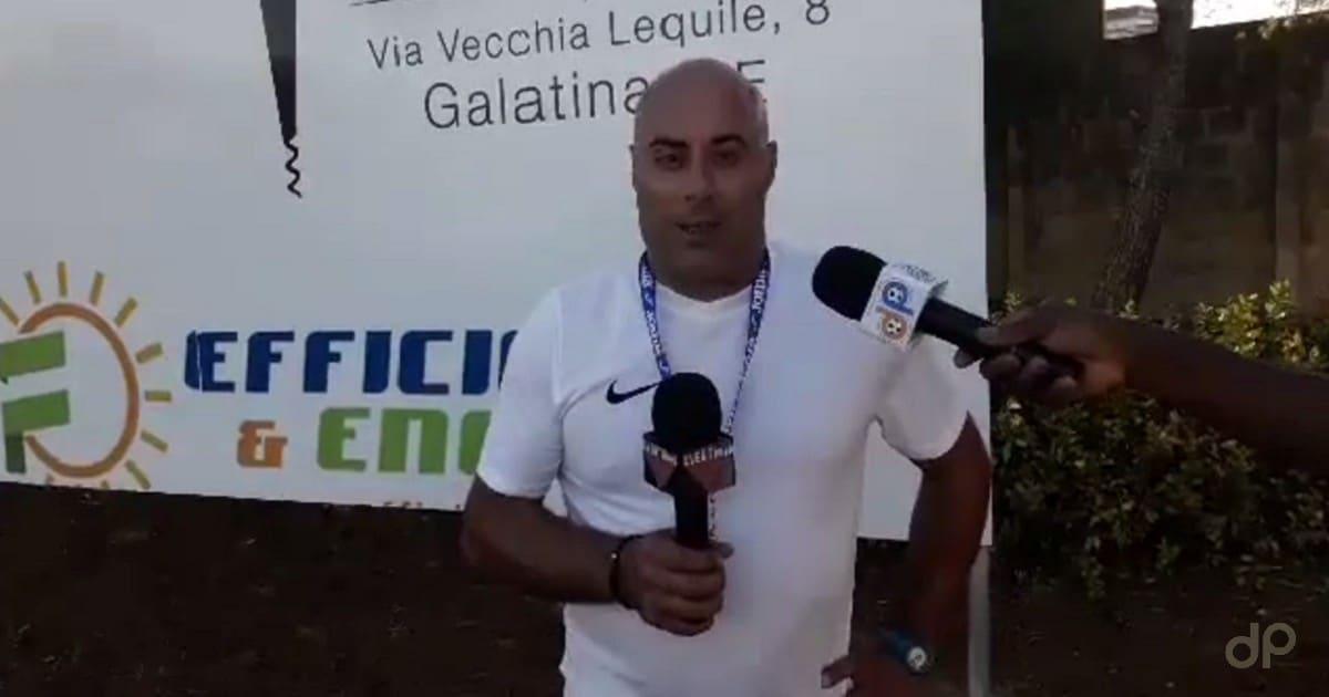 Andrea Salvadore allenatore Galatina 2017