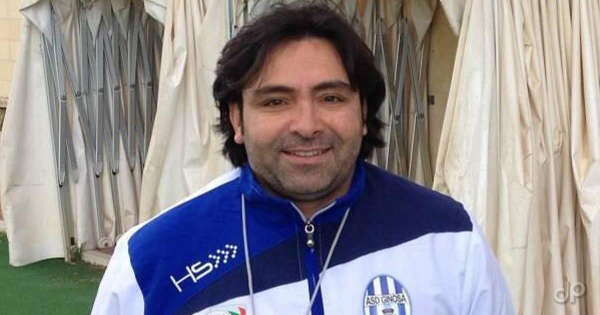 Antonio Pizzulli allenatore Ginosa 2017