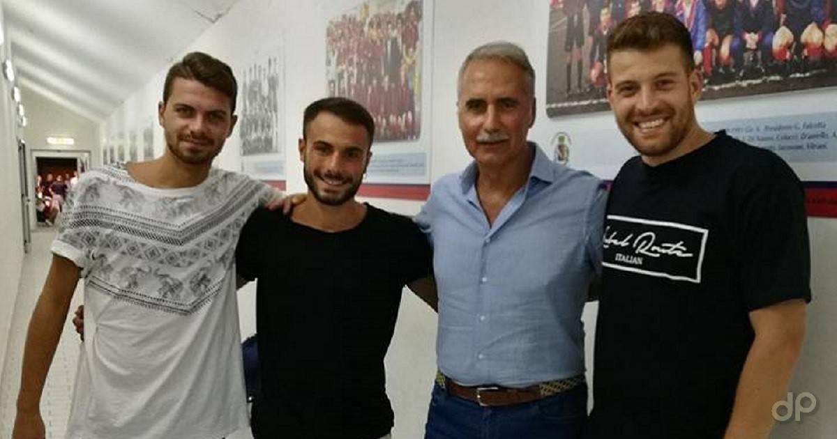 Vincenzo Abruzzese, Riccardo Cardinale e Michele Crisantemo Canosa 2017