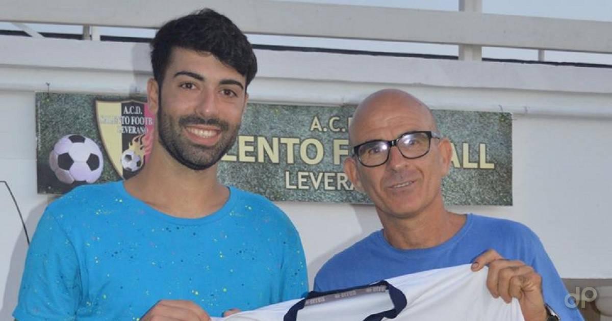 Giulio Perrone alla Salento Football Leverano 2017