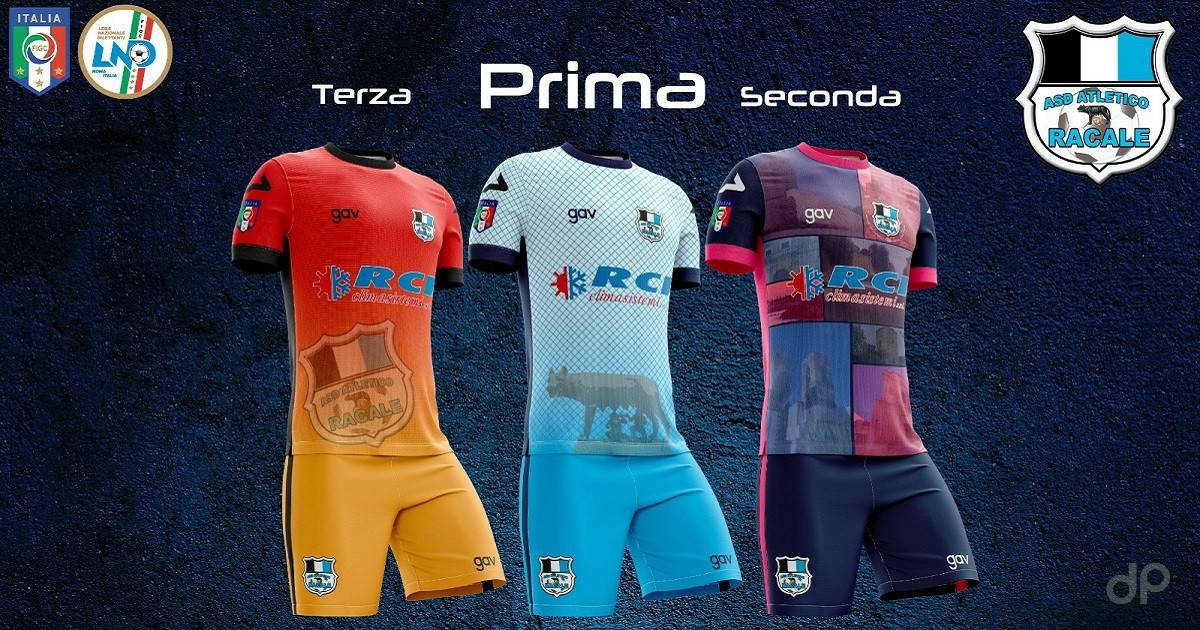 Maglie Atletico Racale 2017