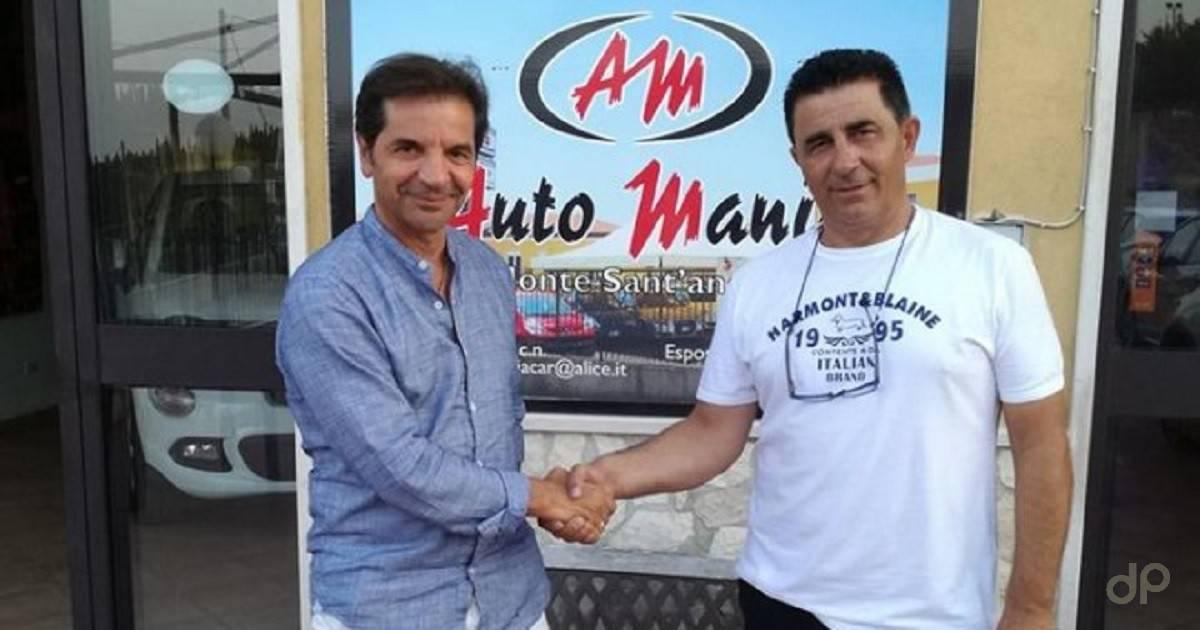 Michele Centra allenatore Monte Sant'Angelo 2017