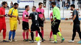 Carovigno-Ostuni, sonora vittoria per 3-0 dei gialloblù di mister Ciraci