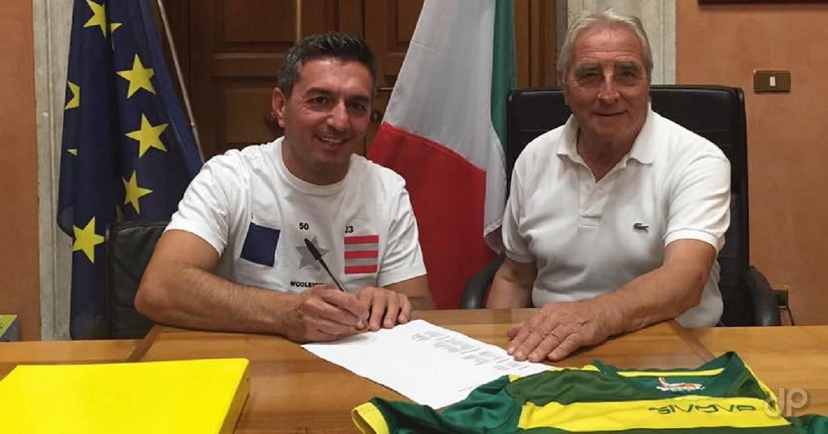 Cesare Di Franco allenatore Troia 2017