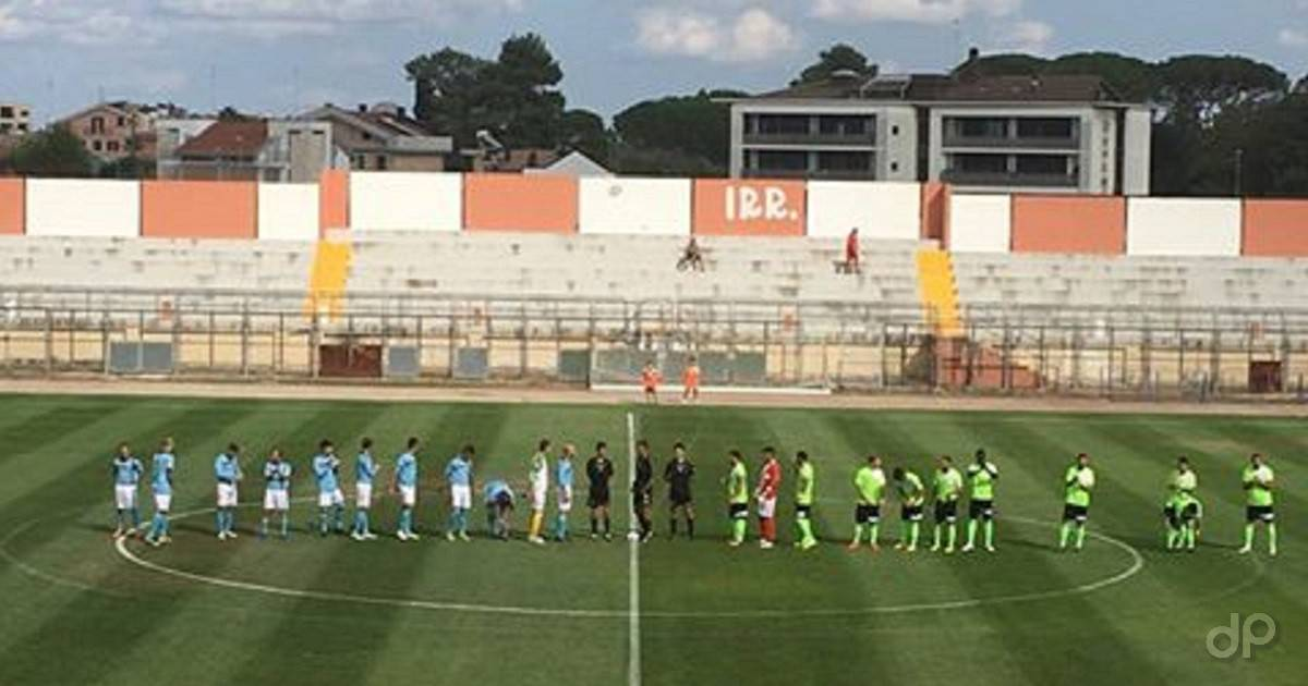 Un momento dell'incontro tra Fortis Altamura e San Marco 2017