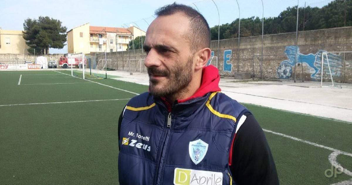 Francesco Bonetti allenatore Atletico Vieste 2017
