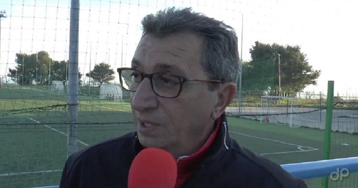 Giuseppe Gidiuli allenatore Martina 2017