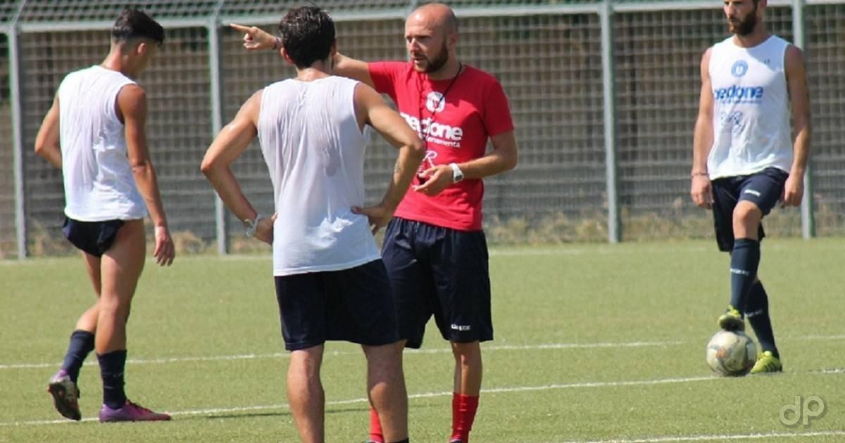 Luca Rumma allenatore UC Bisceglie 2017