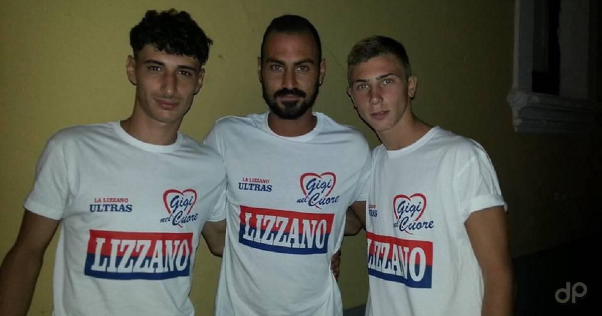 Luigi Galeandro, Gennaro Baratto e Giuseppe D'Ettorre al Lizzano 2017