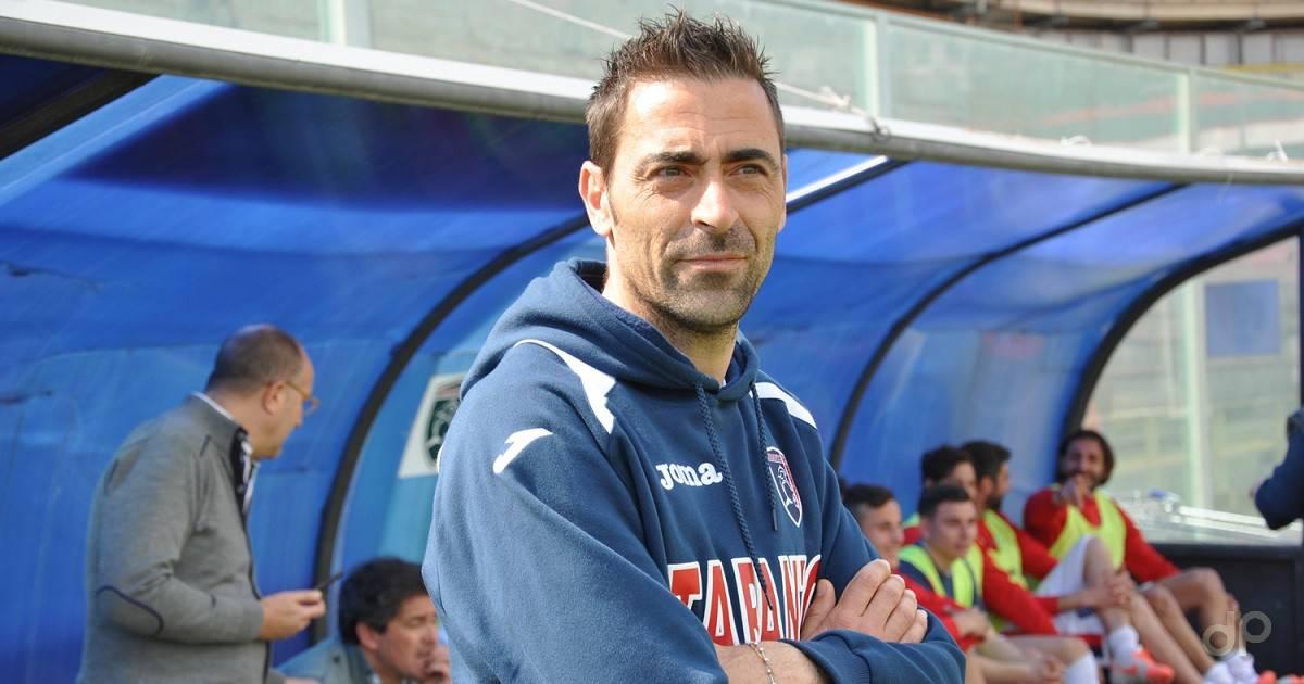 Michele Cazzarò allenatore Taranto 2017
