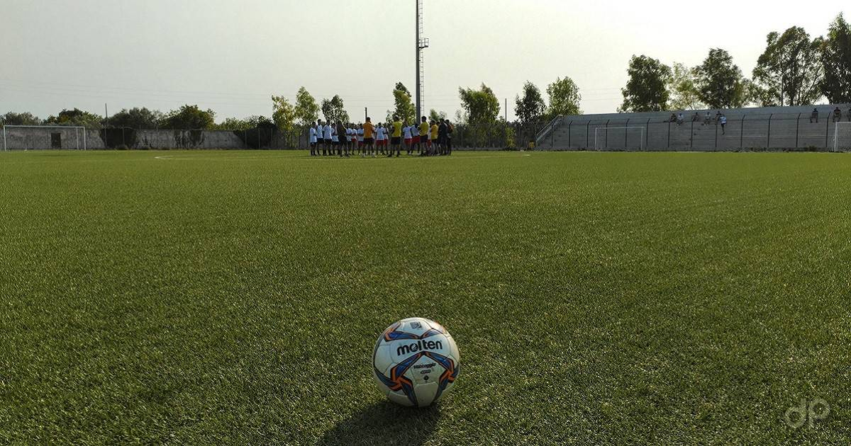 Pallone LND durante allenamento