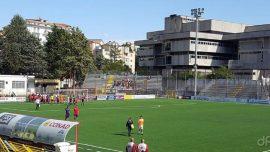 Manfredonia, umiliazione biancoceleste: con il Potenza finisce 7-0