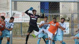 UC Bisceglie-Trani, pari in extremis per gli azzurri grazie al gol di Visconti