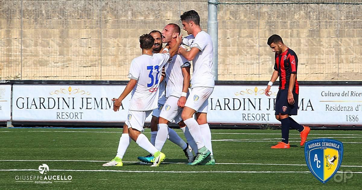 Audace Cerignola-Campobasso Coppa Italia 2017